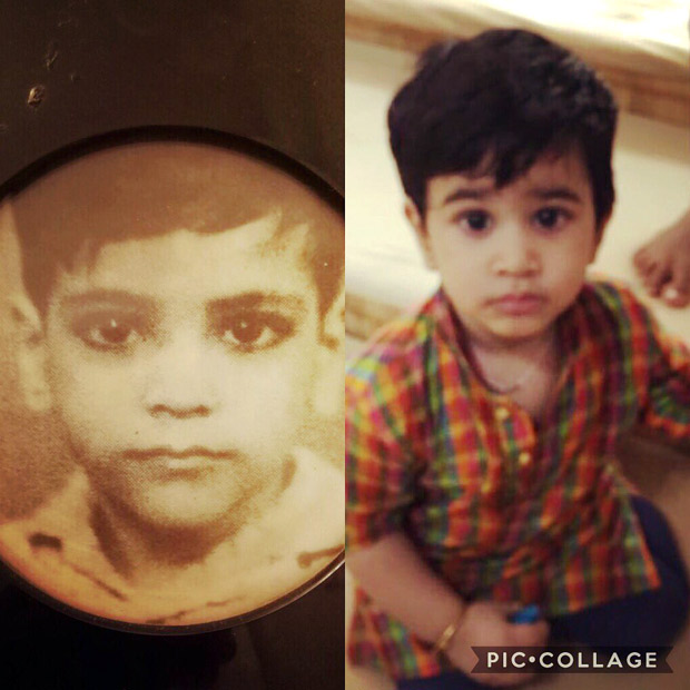Check out Laksshya's resemblance with Jeetendra