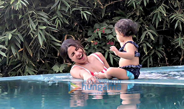 Check out Priyanka Chopra enjoys pool time with her cute niece in Los Angeles1