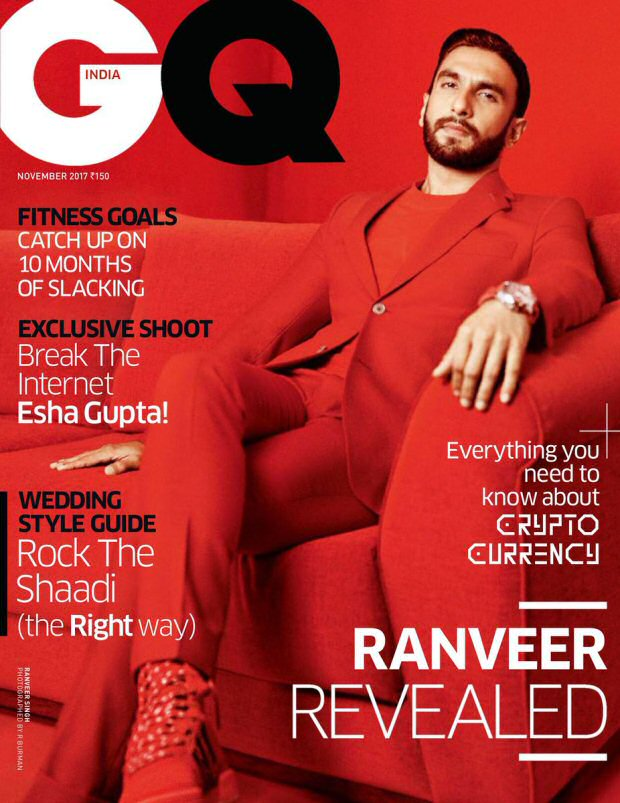 Check out Ranveer Singh's red hot avatar for GQ is not to be missed