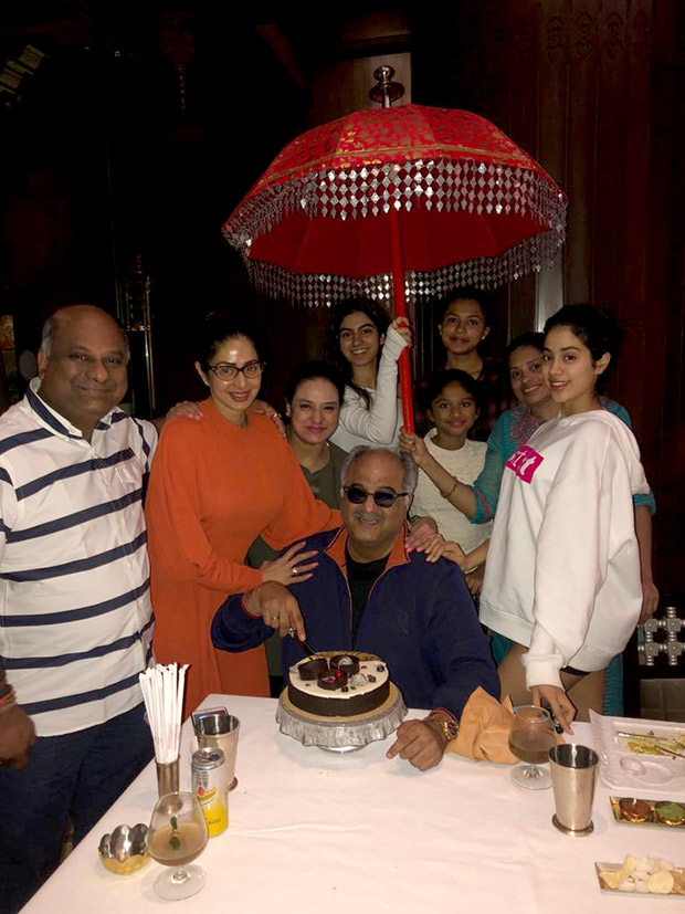 Check out Sridevi's surprise birthday party for Boney Kapoor (1)