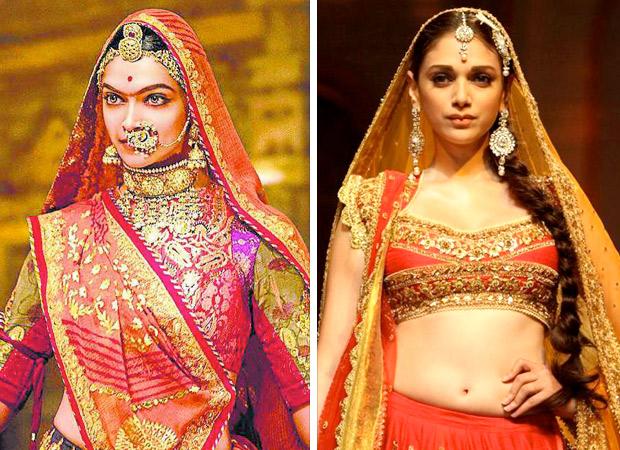 Deepika Padukone shares this special moment from Padmavati wrap-up and so does Aditi Rao Hydari