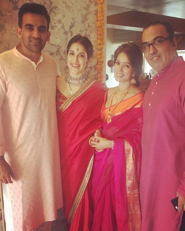 FIRST PHOTOS Sagarika Ghatge and Zaheer Khan get hitched!-02