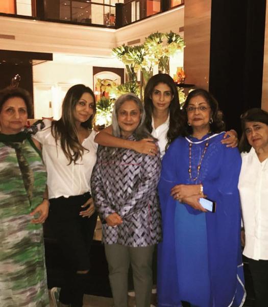 Gauri Khan and Shweta Bachchan