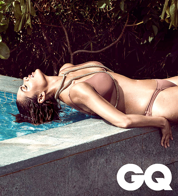 HOT Sultry siren breaking the Internet with her sexy bikini photoshoot for GQ