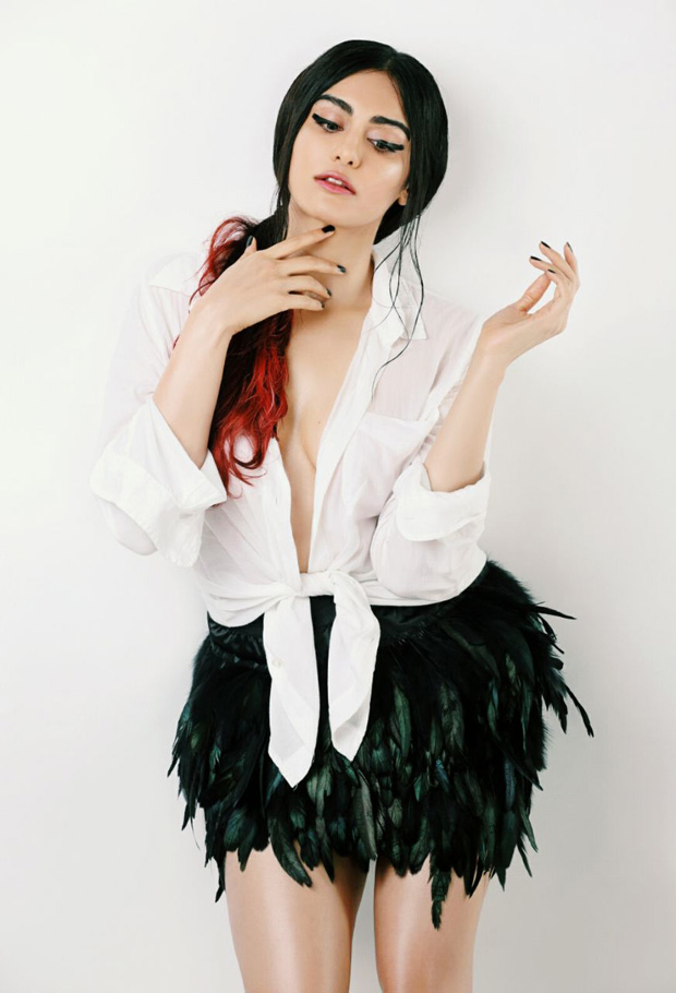 HOTNESS Adah Sharma cleavage baring photoshoot is too sexy to handle!