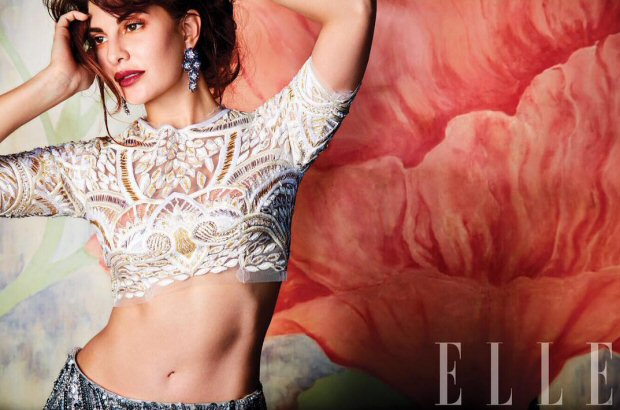 HOTNESS Jacqueline Fernandez is an absolute stunner on Elle magazine's wedding special!4