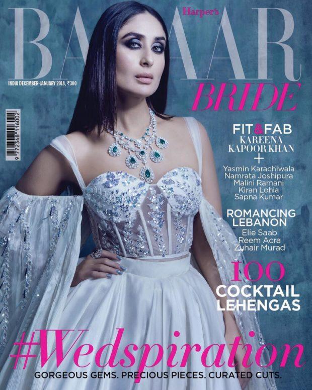 HOTNESS Kareena Kapoor Khan looks stunning on Harper's Bazaar Bride cover
