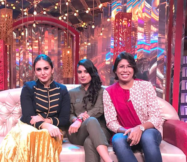 Huma Qureshi fulfils her dream by meeting Indian woman's team cricket captain Mithali Raj (2)