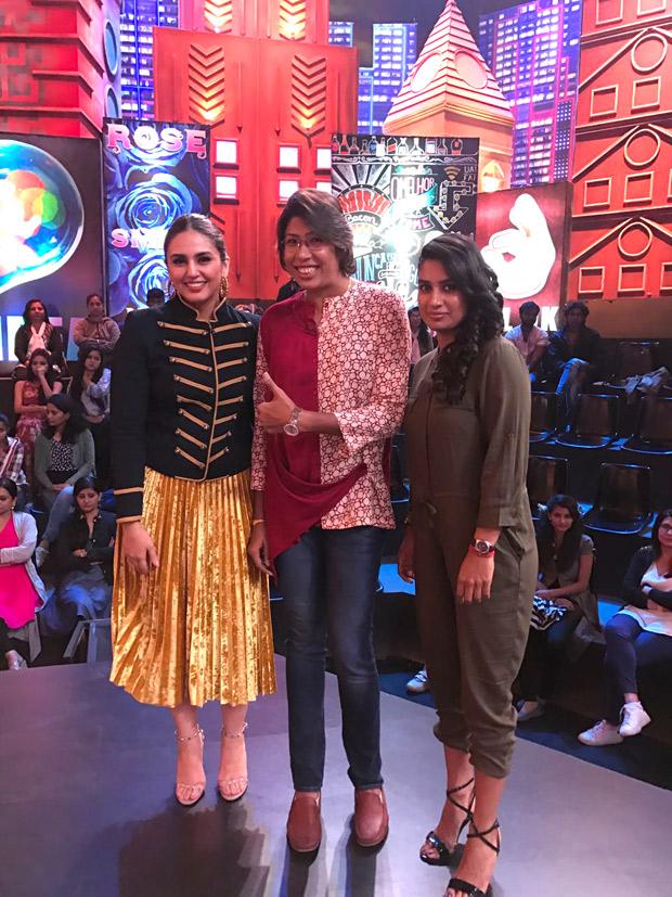 Huma Qureshi fulfils her dream by meeting Indian woman's team cricket captain Mithali Raj (3)