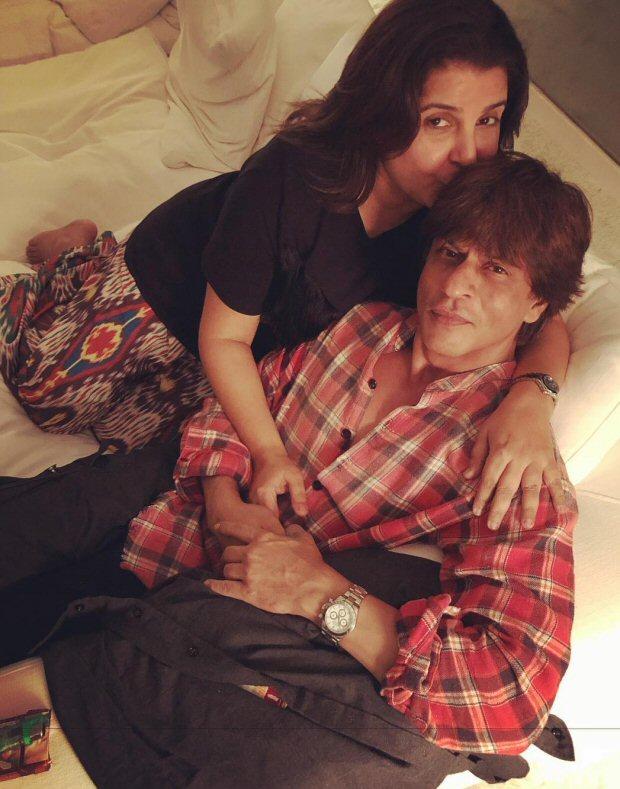 INSIDE PHOTOS Deepika Padukone, Katrina Kaif, Alia Bhatt, Karan Johar, Sidharth Malhotra and others at Shah Rukh Khan's grand birthday bash!-1