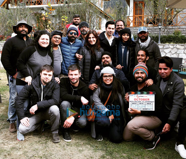 It's a wrap for Varun Dhawan starrer October in Manali