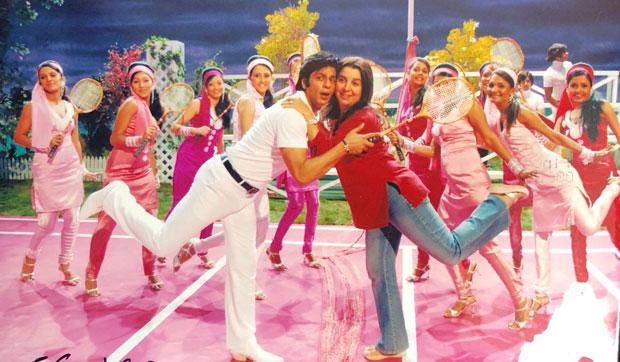 Shah Rukh Khan and 'Shantipriya' Deepika Padukone-2