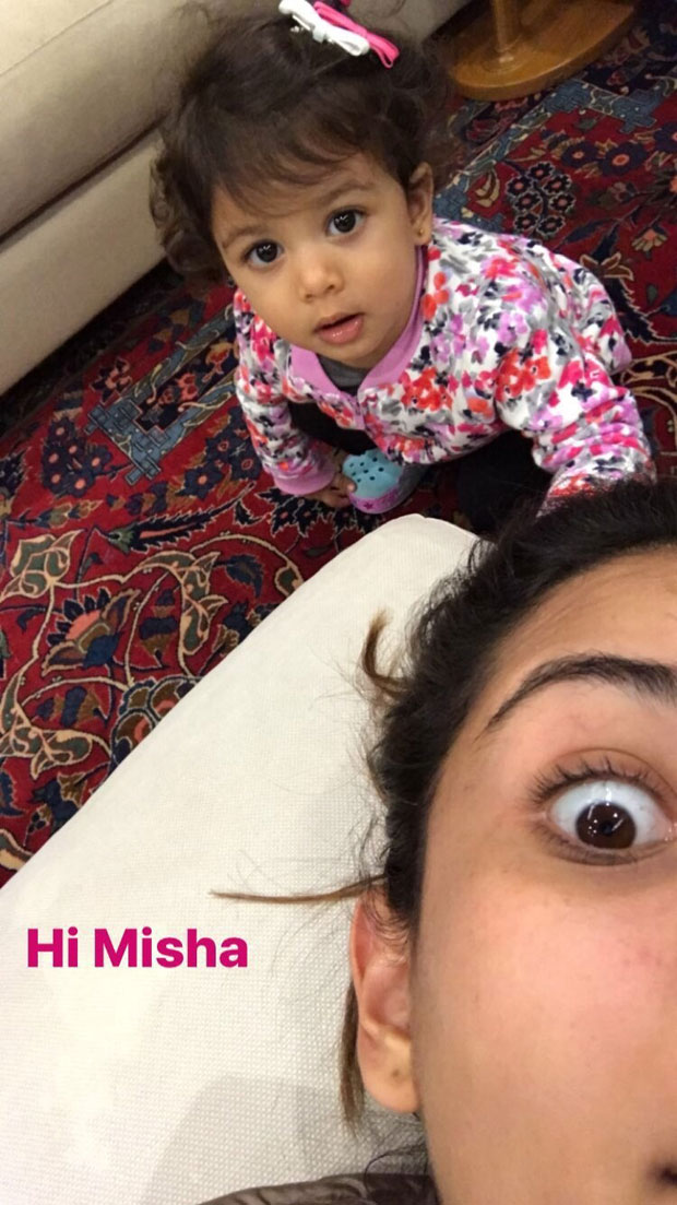 Shahid Kapoor's wife Mira Rajput goofs around with daughter Misha Kapoor