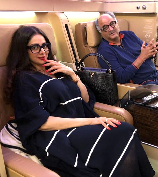 This is what Sridevi and Boney Kapoor's London trip is all about
