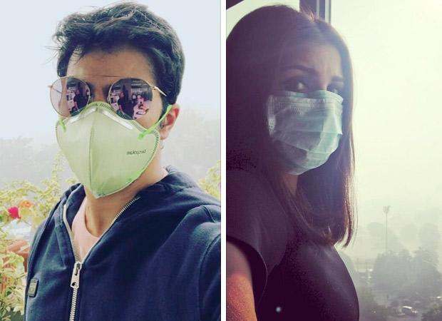Why are Varun Dhawan and Parineeti Chopra hiding their faces