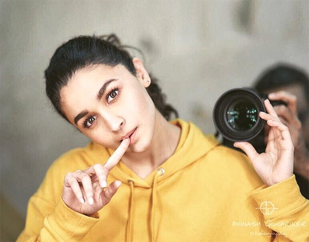 Alia Bhatt does a photoshoot with Avinash Gowariker and it is cute!
