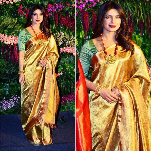 Anushka Sharma - Virat Kohli's wedding reception Priyank