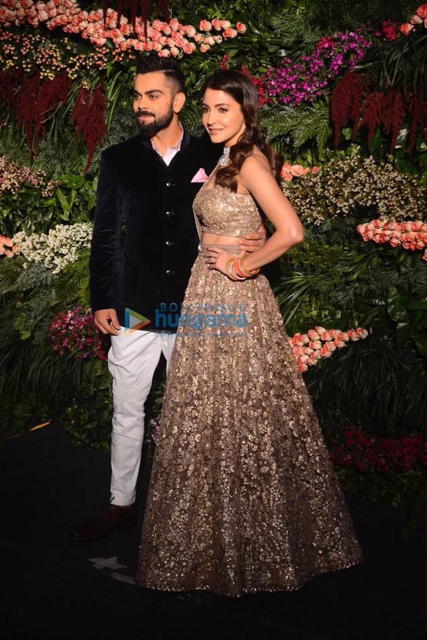 Anushka Sharma - Virat Kohli's wedding reception Priyanka Chopra, Kangana Ranaut, Aishwarya Rai Bachchan, Katrina Kaif and others who upped the glamour quotient!