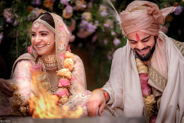 Anushka Sharma and Virat Kohli look royal in their traditional outfits in the first photos from their wedding in Italy!-01