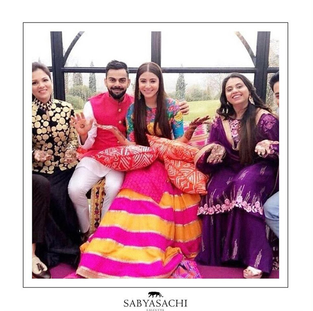 Anushka Sharma sets hearts aflutter as the exquisite Sabyasachi modern traditionalist bride! View Pics (3)