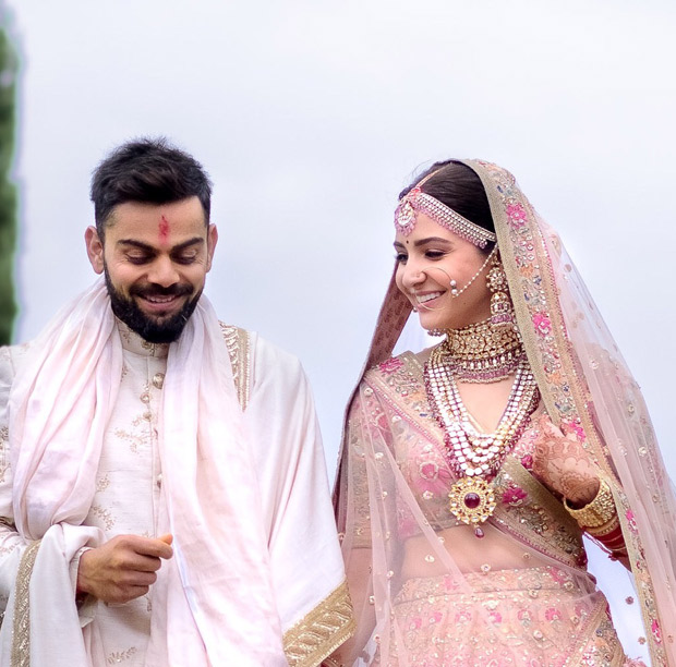 Anushka Sharma sets hearts aflutter as the exquisite Sabyasachi modern traditionalist bride! View Pics (6)