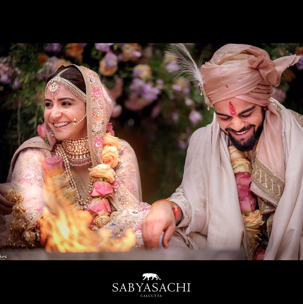 Anushka Sharma sets hearts aflutter as the exquisite Sabyasachi modern traditionalist bride! View Pics Featured