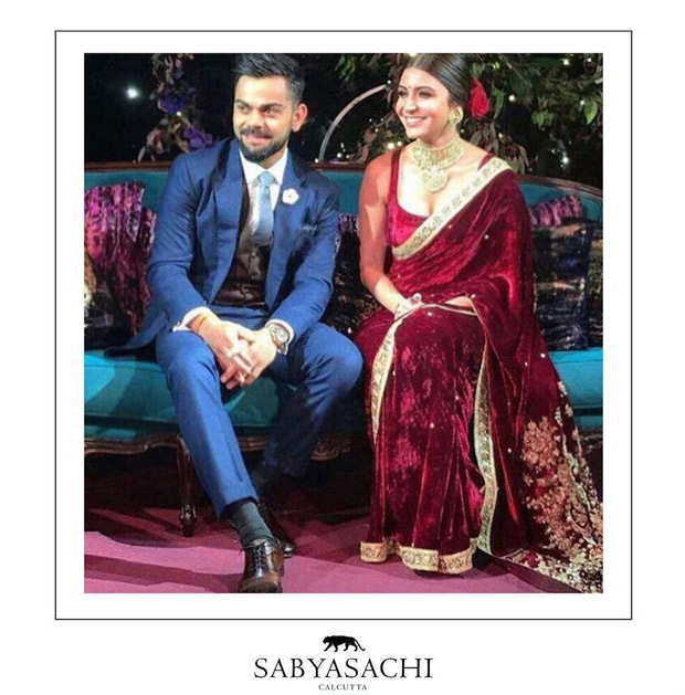 Anushka Sharma sets hearts aflutter as the exquisite Sabyasachi modern traditionalist bride! View Pics