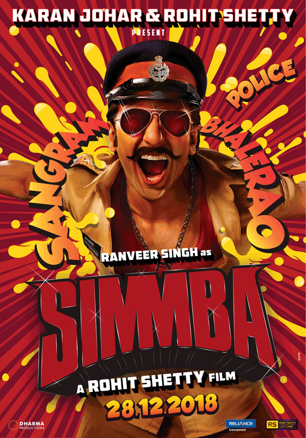 BREAKING Ranveer Singh in and as Simmba; directed by Rohit Shetty