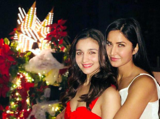 Besties Alia Bhatt and Katrina Kaif celebrate Christmas together