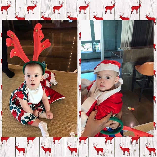 CUTE! Karan Johar's twins Yash and Roohi are Christmas ready and they are as adorable as ever