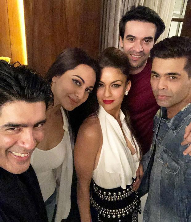 Celebs attend Manish Malhotra's cake cutting ceremony-1