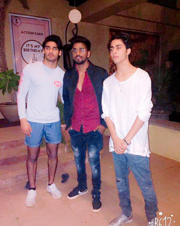 Check out Aryan Khan and Athiya Shetty celebrate Ahan Shetty's birthday together1