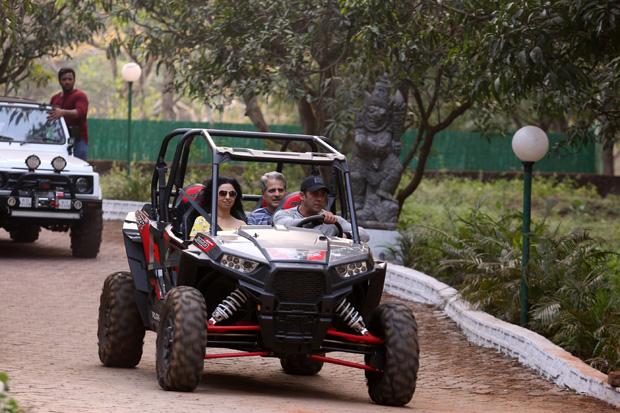 Check out Post birthday celebrations, Salman Khan enjoys ATV car ride with friends (2)