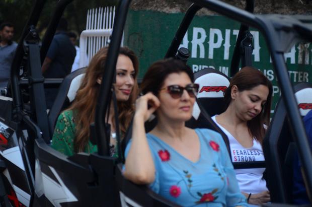 Check out Post birthday celebrations, Salman Khan enjoys ATV car ride with friends (4)