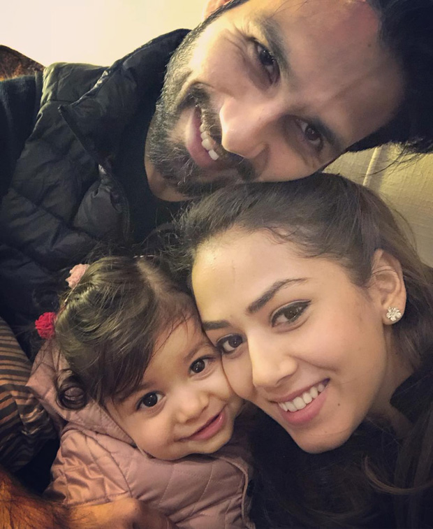 Check out Shahid Kapoor, Mira Rajput and Misha Kapoor make an adorable family!