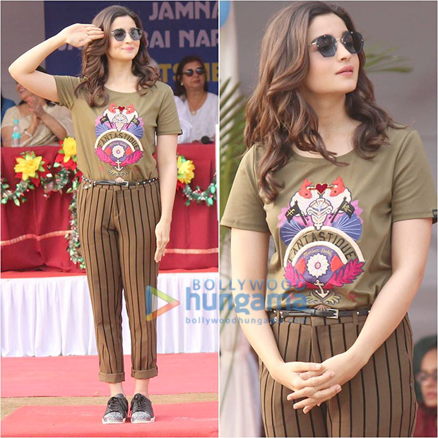 Daily Style Pill Alia Bhatt just gave the mixed prints trend a punk upgrade and we LOVE it! (2)
