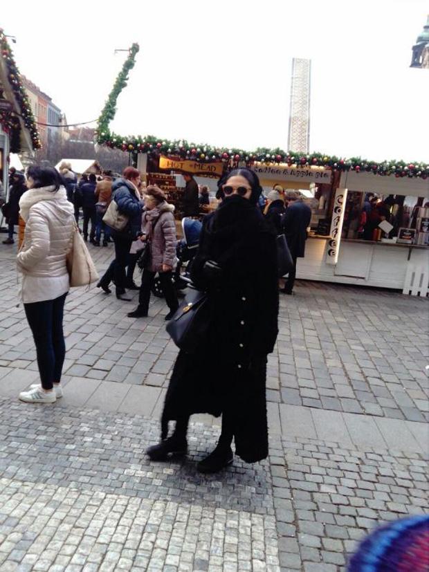 Deepika Padukone spotted in disguise in Vienna