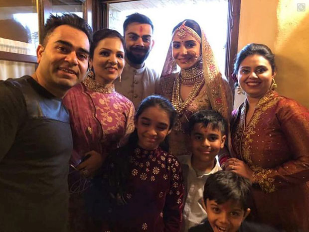 FIRST PHOTOS Anushka Sharma and Virat Kohli look royal in their traditional outfits in the first photos from their wedding in Italy! -2