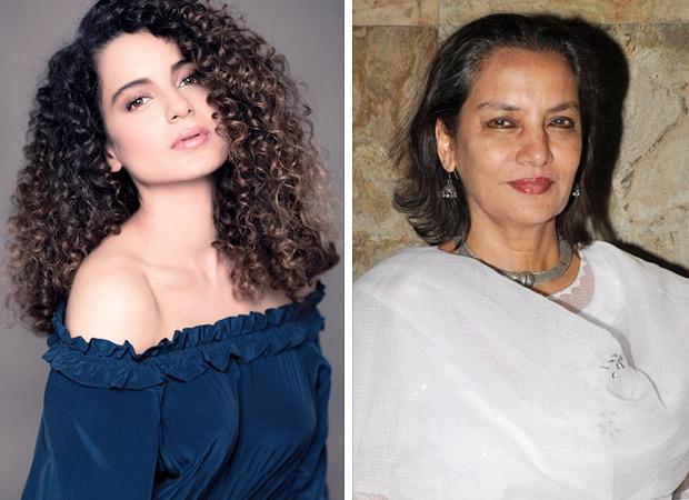 Here's why Kangana Ranaut refused to support Shabana Azmi in her 'Deepika Bachao' campaign