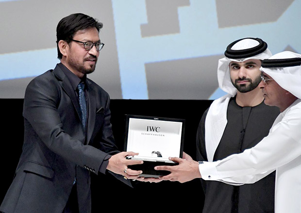 Irrfan Khan felicitated alongside the likes of Patrick Stewart and Cate Blanchett at the Dubai International Film Festival (3)
