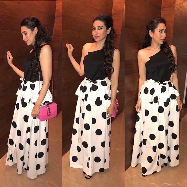Karisma Kapoor shows us why polka dots can never go out of fashion with two gorgeous looks! (2)