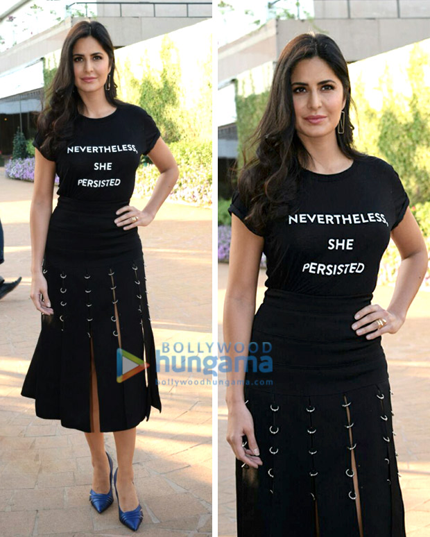Katrina Kaif turns wears her heart on her fashionable sleeve and says it all with a slogan tee!12