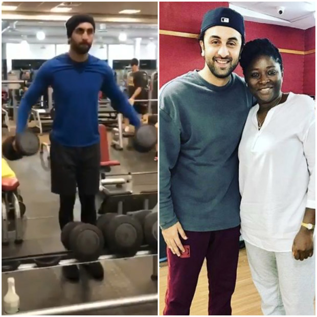 Post Shashi Kapoor's demise, Ranbir Kapoor hits the gym and resumes shooting of Sanjay Dutt biopic in Cape Town! (1)