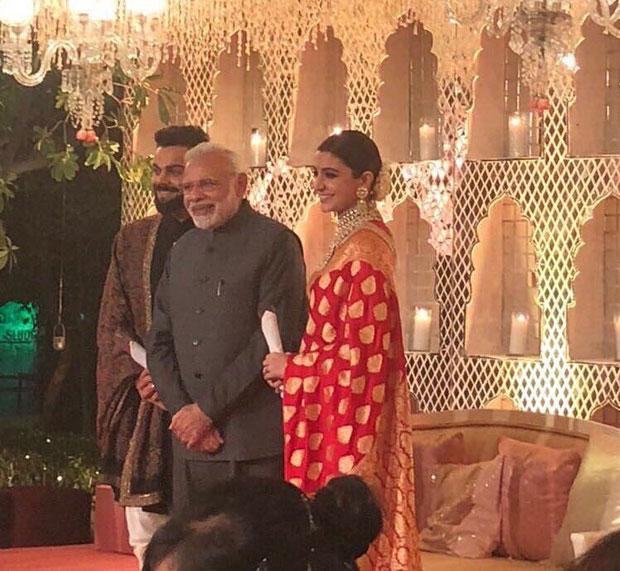 Prime Minister Narendra attends Virat Kohli and Anushka Sharma's Delhi wedding reception -1