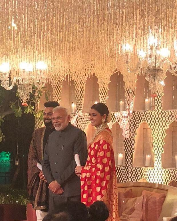 Prime Minister Narendra attends Virat Kohli and Anushka Sharma's Delhi wedding reception -2