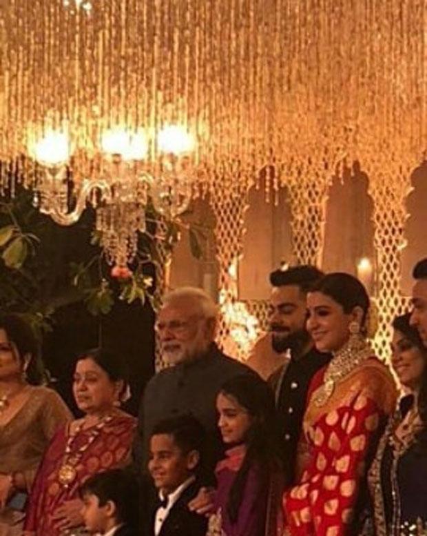 Prime Minister Narendra attends Virat Kohli and Anushka Sharma's Delhi wedding reception -3