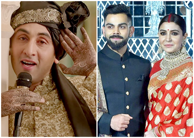 Ranbir Kapoor came on twitter for a chat and had the best reaction to Anushka Sharma- Virat Kohli's wedding!