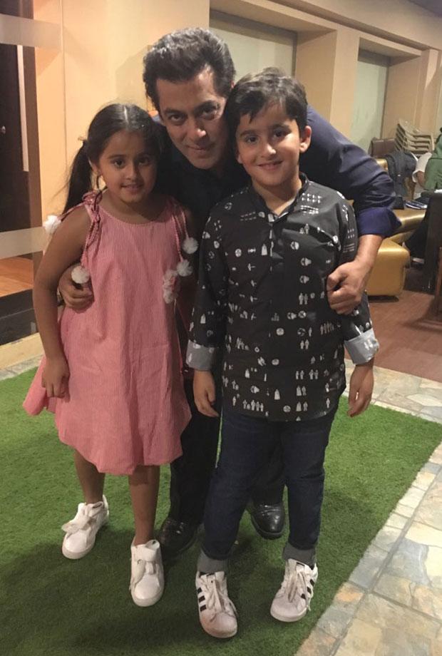 Salman Khan meets Bigg Boss 11 contestant Hiten Tejwani's kids-3