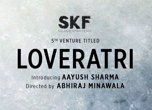 Salman Khan's next production starring Aayush Sh