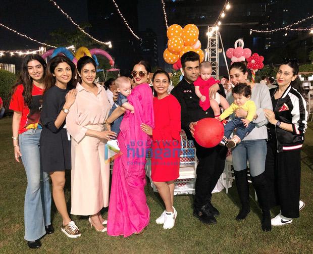 Shah Rukh Khan, AbRam Khan, Kareena Kapoor Khan, Taimur, Karan Johar and others attend Rani Mukerji's daughter Adira's birthday party! (3)